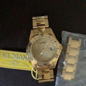 Invicta Women's 12508 Pro Diver Gold